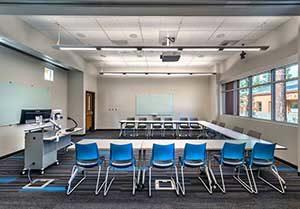 flexible classroom hotspot tour U110
